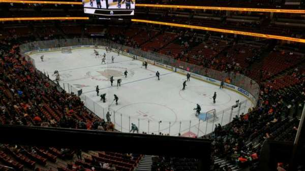 Honda Center, section: 405, row: A, seat: 1