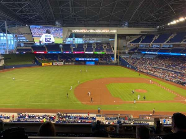Marlins Park, section: Suite 42, row: 3, seat: 3