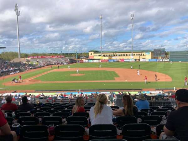 Roger Dean Chevrolet Stadium, section: 203, row: 12, seat: 11