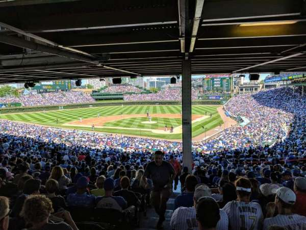 Wrigley Field, section: 216, row: 19, seat: 1