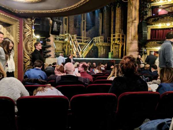 CIBC Theatre, section: Orchestra L, row: Q, seat: 21