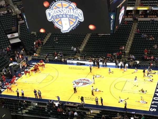 Bankers Life Fieldhouse, section: 223, row: 14, seat: 12