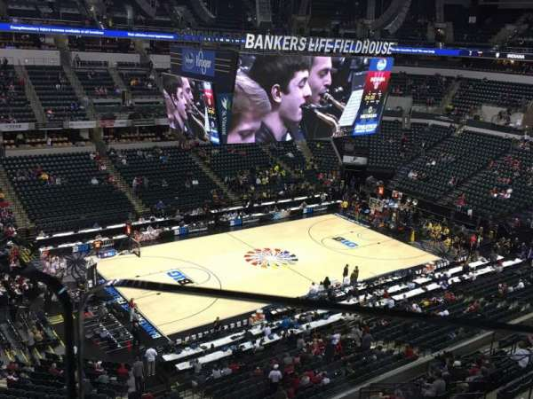 Bankers Life Fieldhouse, section: 211, row: 1, seat: 1