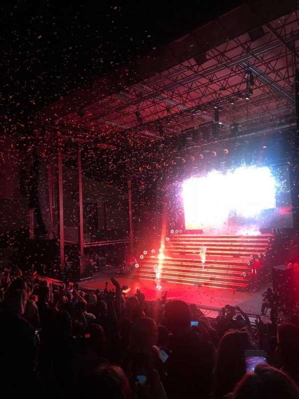 Red Rocks Amphitheatre, row: 10, seat: 19