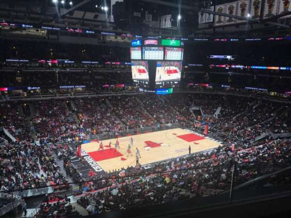 United Center, section: 303, row: 2, seat: 16