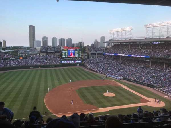 Wrigley Field, section: 511, row: 3, seat: 4