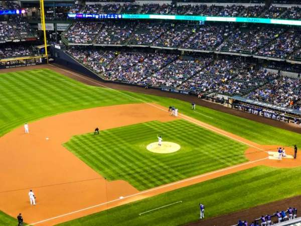 Miller Park, section: TR432, row: 5ADA, seat: 2