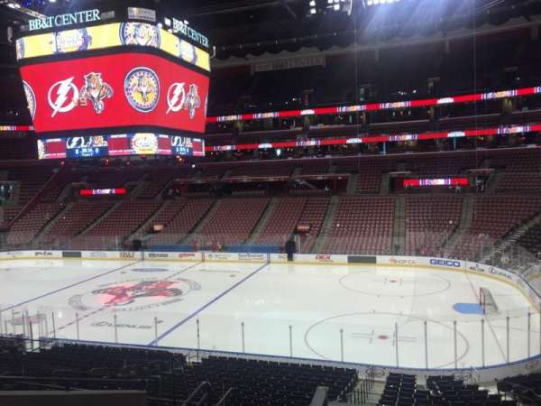BB&T Center, section: 115, row: 25, seat: 17
