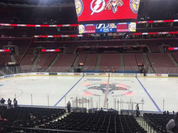 BB&T Center, section: 118, row: 23, seat: 5