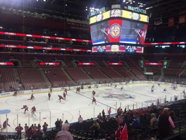 BB&T Center, section: 104, row: 24, seat: 13