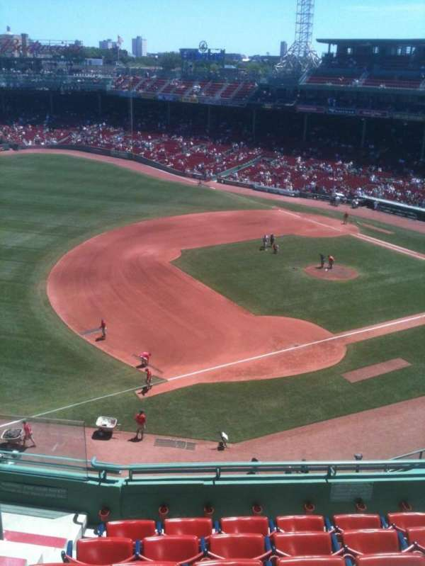 Fenway Park, section: 12, row: A, seat: 2