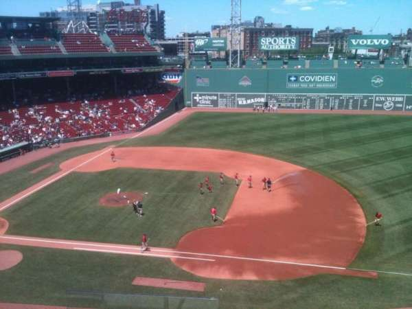 Fenway Park, section: Pavilion 9, row: 4, seat: 18