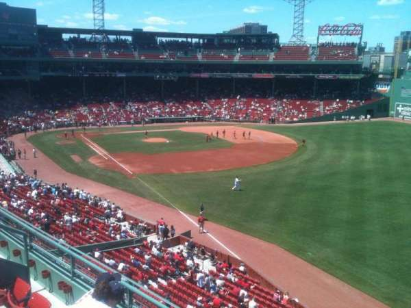 Fenway Park, section: Right Field Roof Deck Box 31, row: D, seat: 8