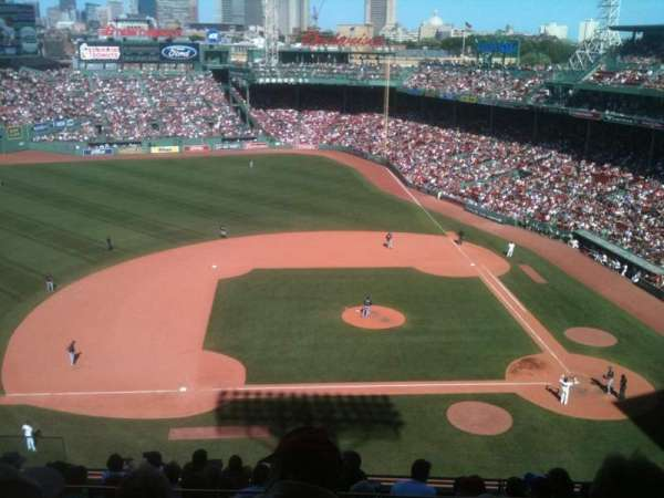 Fenway Park, section: Pavilion Box 6, row: 1, seat: 10
