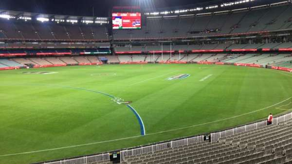 Melbourne Cricket Ground, section: N55, row: A, seat: 9