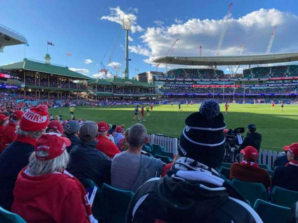 Sydney Cricket Ground, section: 27, row: J, seat: 20