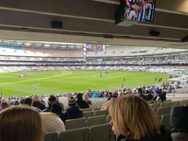 Melbourne Cricket Ground, section: M53, row: JJ, seat: 17