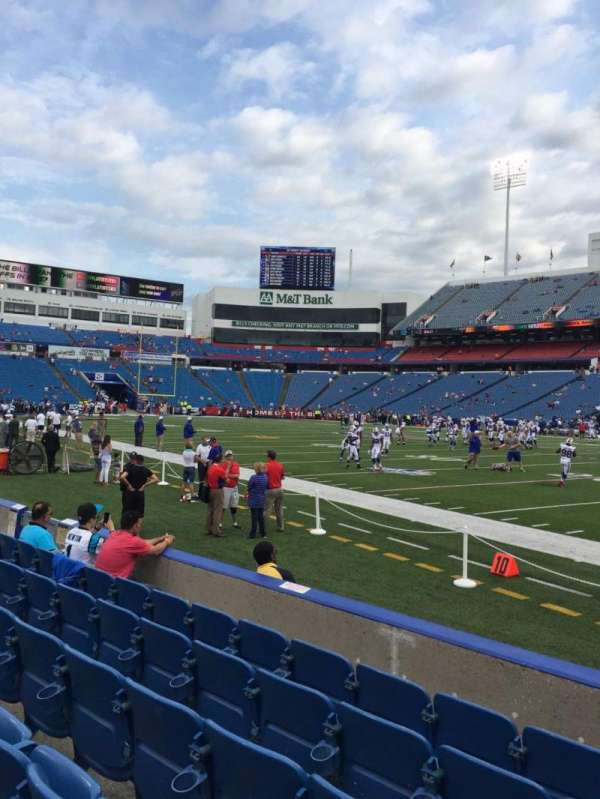 New Era Field, section: 108, row: 6, seat: 6