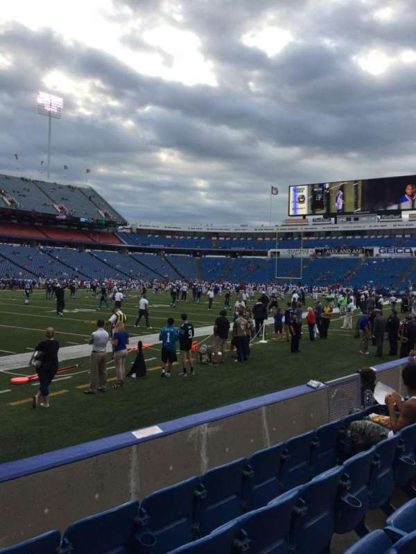 New Era Field, section: 115, row: 5, seat: 13