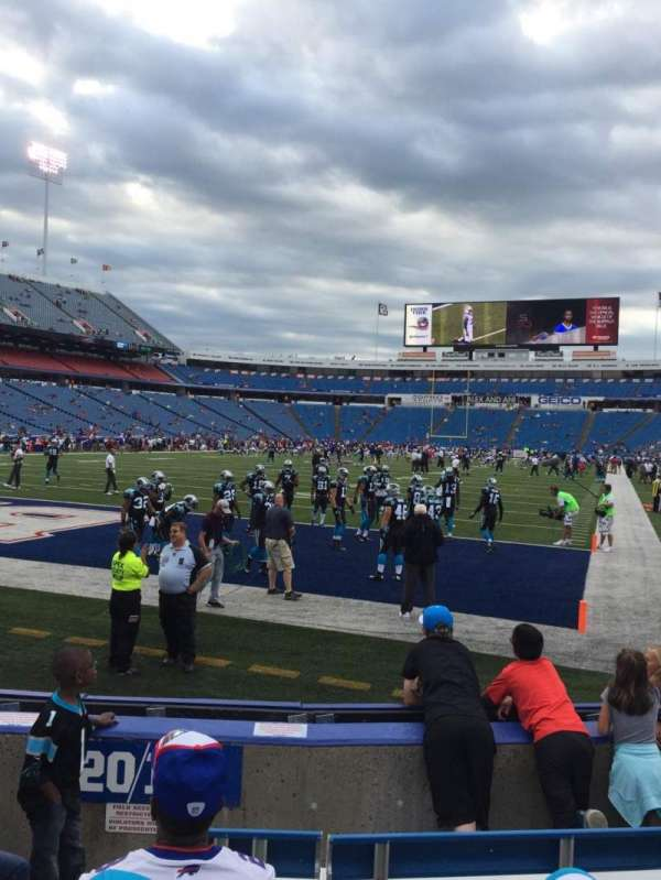 New Era Field, section: 119, row: 6, seat: 8