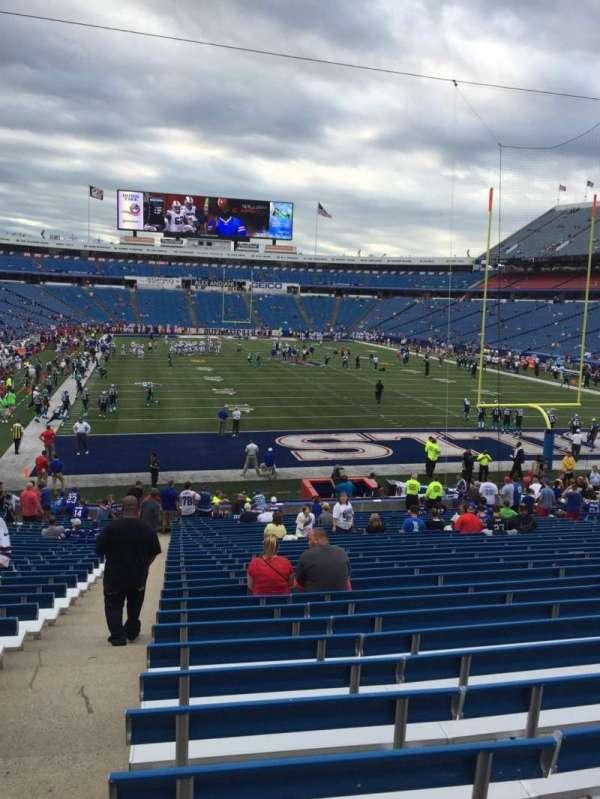 Highmark Stadium, section: 123, row: 30, seat: 25