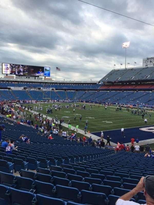 New Era Field, section: 126, row: 32, seat: 12