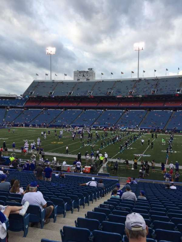 New Era Field, section: 131, row: 30, seat: 22