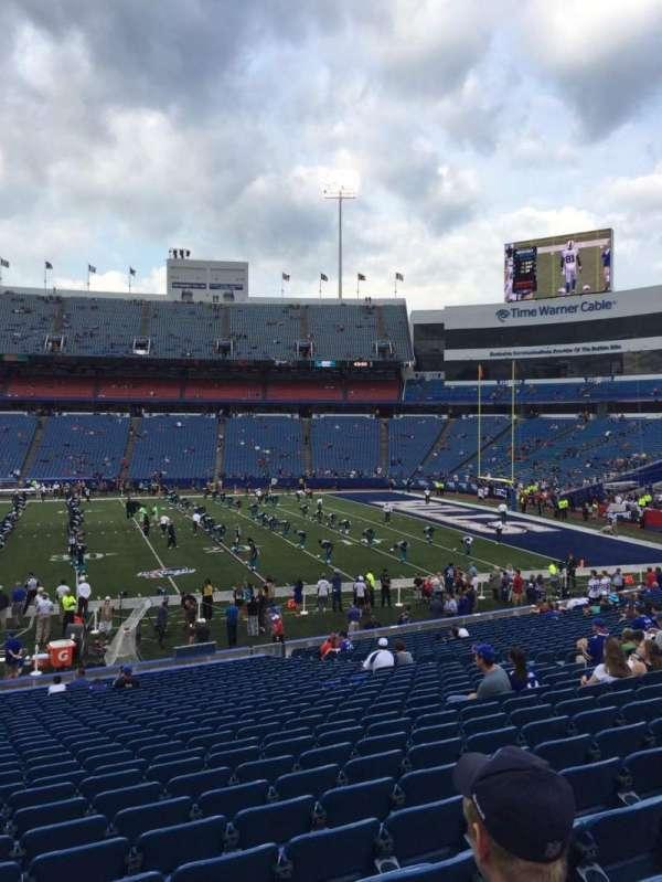 New Era Field, section: 132, row: 30, seat: 17