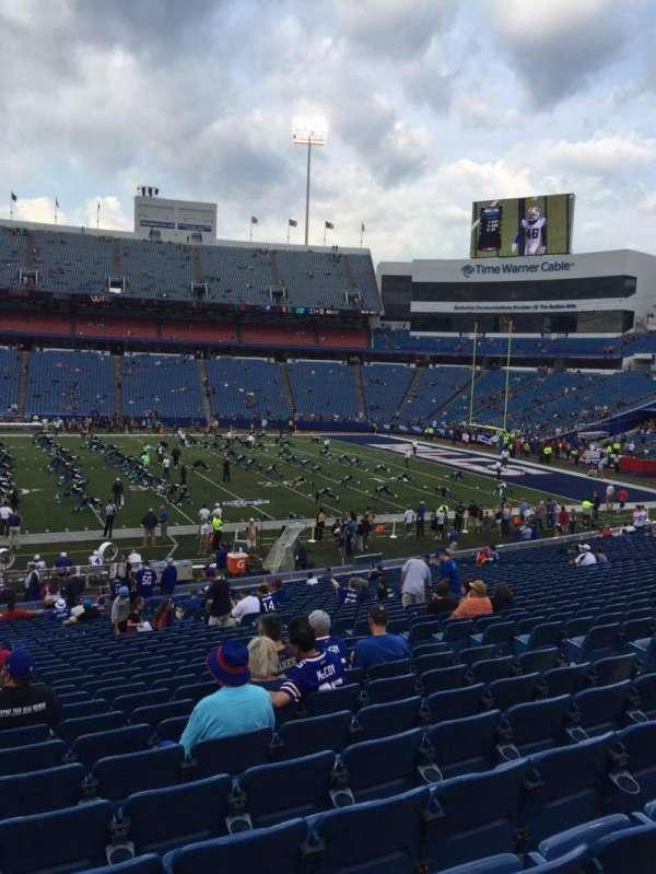 New Era Field, section: 133, row: 32, seat: 10