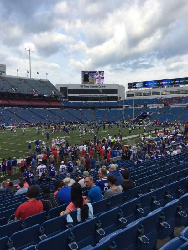 New Era Field, section: 137, row: 19, seat: 19