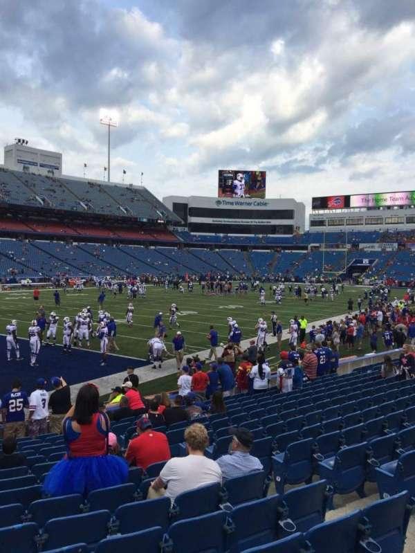 New Era Field, section: 139, row: 16, seat: 7