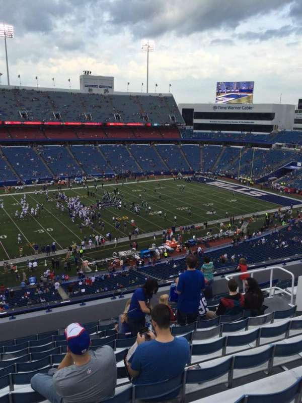 New Era Field, section: 336, row: 12, seat: 13