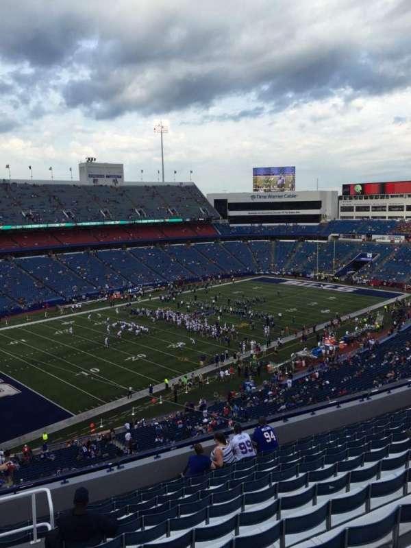 New Era Field, section: 338, row: 13, seat: 28