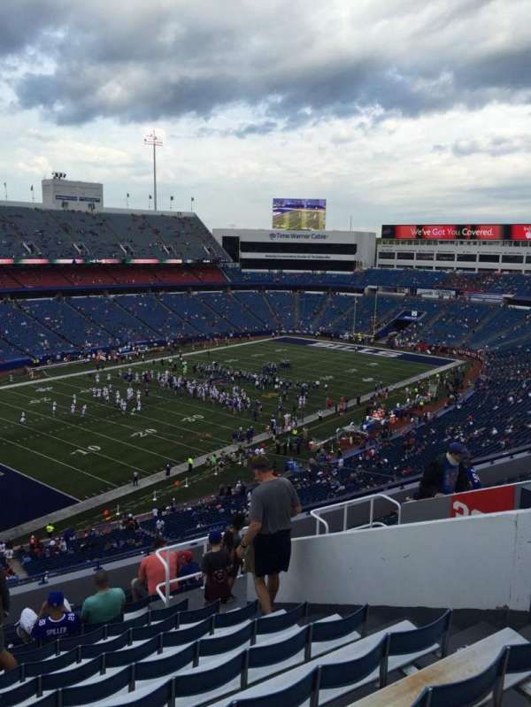 New Era Field, section: 339, row: 14, seat: 9