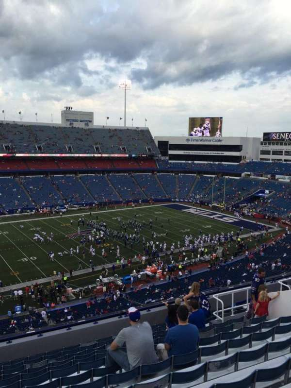 New Era Field, section: 336, row: 14, seat: 15