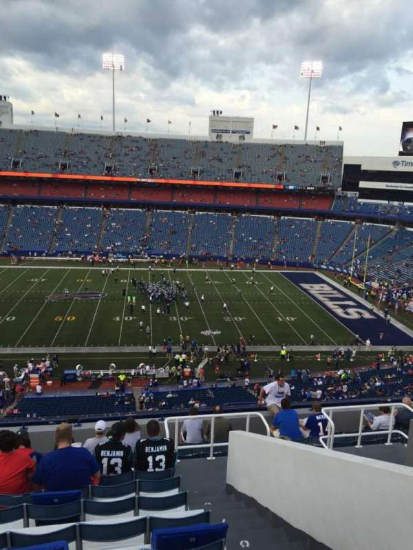 New Era Field, section: 333, row: 13, seat: 4