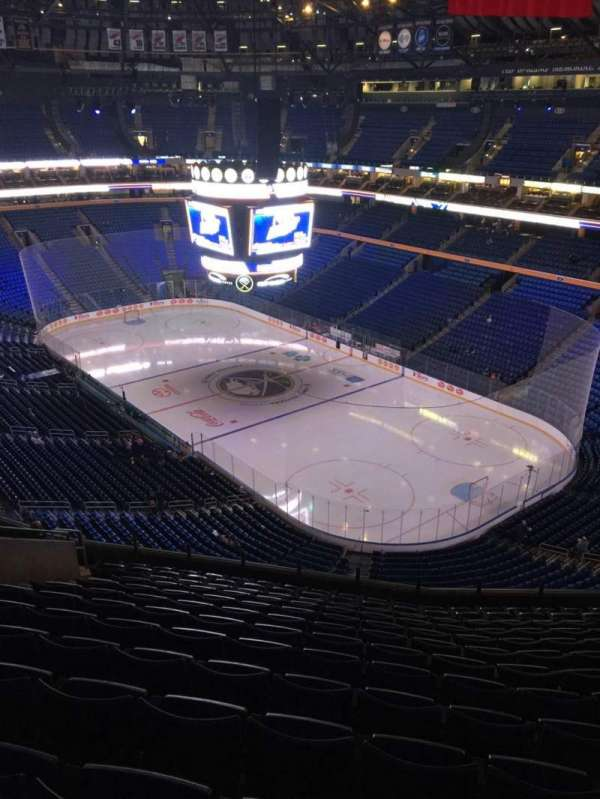 KeyBank Center, section: 302, row: 13, seat: 14