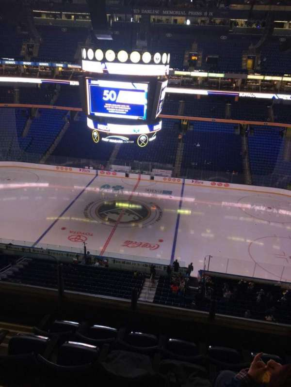 KeyBank Center, section: 305, row: 5, seat: 15