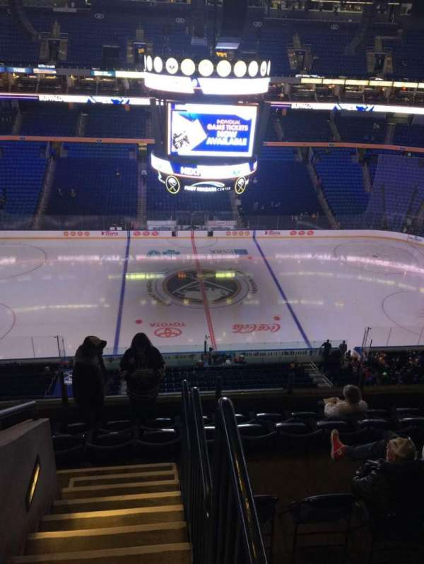 KeyBank Center, section: 306, row: 7, seat: 18