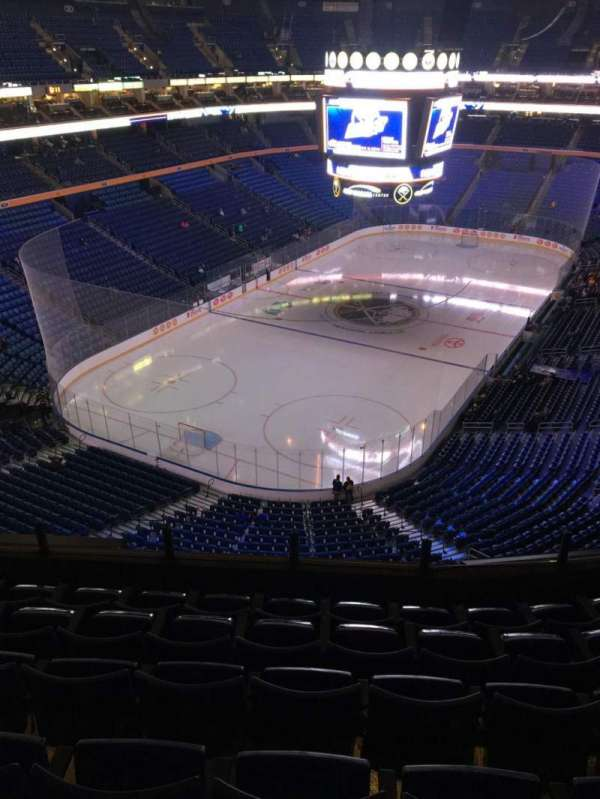 KeyBank Center, section: 311, row: 6, seat: 8