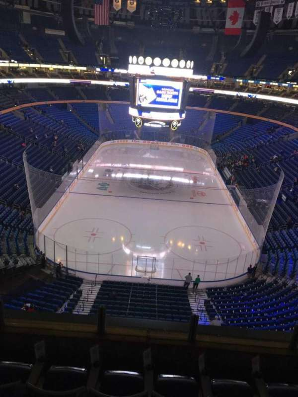 KeyBank Center, section: 313, row: 4, seat: 9