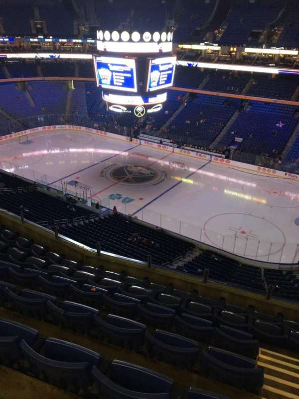 KeyBank Center, section: 318, row: 7, seat: 1