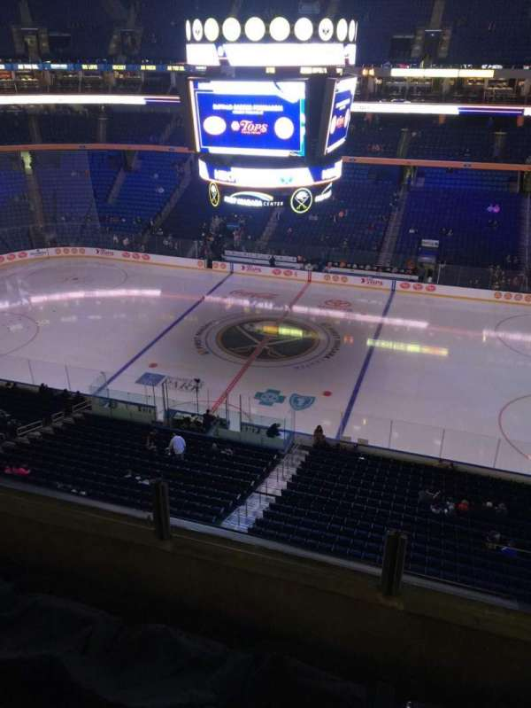 KeyBank Center, section: 319, row: 3, seat: 10