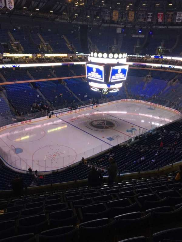 KeyBank Center, section: 323, row: 10, seat: 20