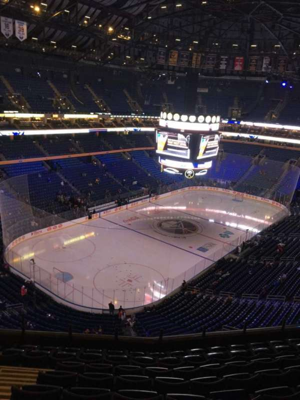 KeyBank Center, section: 324, row: 9, seat: 17