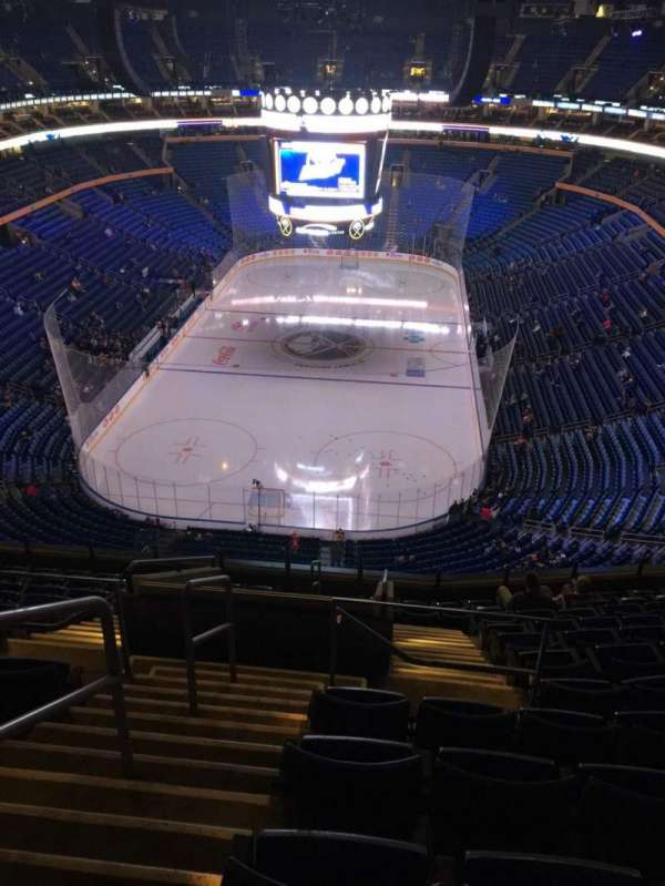 KeyBank Center, section: 326, row: 12, seat: 26