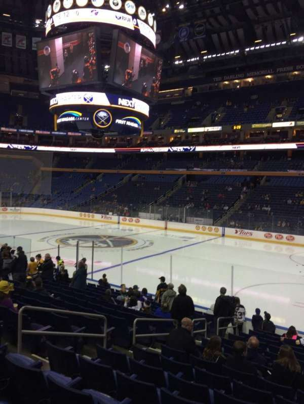 KeyBank Center, section: 103, row: 15, seat: 25