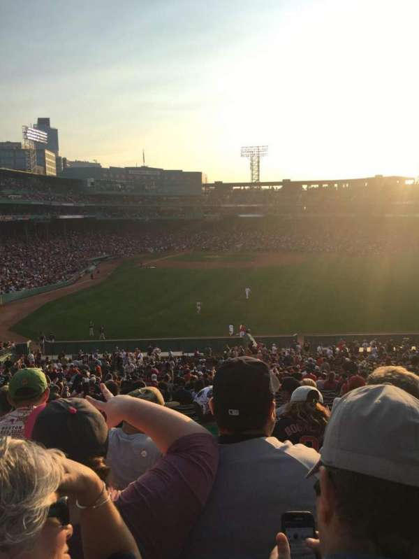 Fenway Park, section: Bleacher 42, row: 50, seat: 16