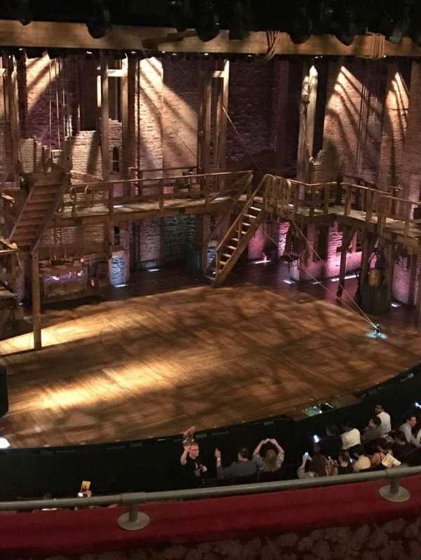 Richard Rodgers Theatre, section: Front Mezzanine L, row: D, seat: 25