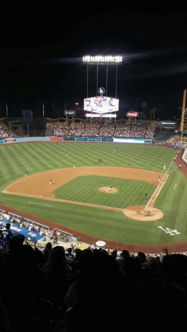 Dodger Stadium, section: 7rs, row: P, seat: 12